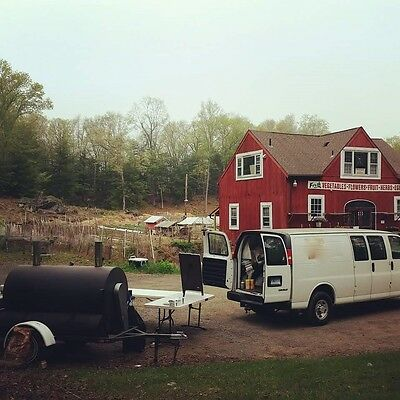 Mobile BBQ Biz: 2 Smokers, Cargo Van, all equip. All you need is meat and smoke.
