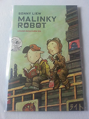 Malinky Robot - Collected stories & other bits - Image Comic - TPB