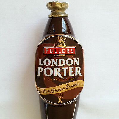 Fullers London Porter Ceramic Draft Beer Keg Tap Handle