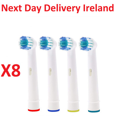 8PCS Replacement Toothbrush Heads For Oral B Electric Vitality Precision