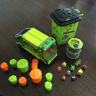 The Trash Pack Lot Garbage Truck Collectors Trash Can Trashies Garbage Cans