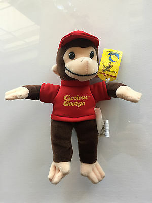 "Curious George 9"" Plush NWT"