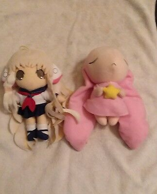 Adorable Plush Chorbits Chii and Pink Rabbit