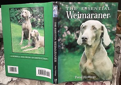 The Essential Weimaraner dog book Patsy Hollings 1996 first edition