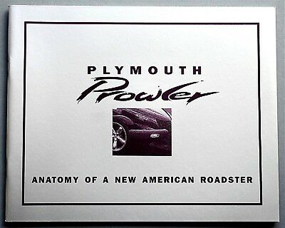Original 1997 Plymouth Prowler Prestige Brochure ~ 42 Pages ~ 97Plyprlwr