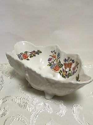 Stunning Aynsley Cottage Garden Fine English Bone China Dish