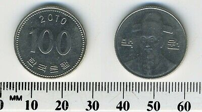 South Korea 2010 - 100 Won Copper-Nickel Coin