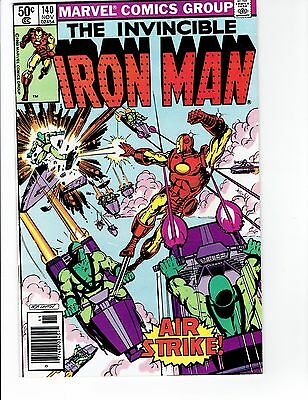 The Invincible Iron Man #140
