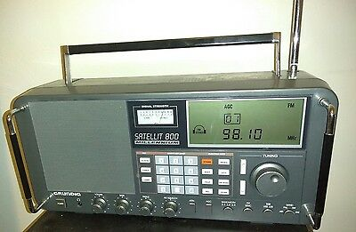 Grundig Satellit 800 Millenium  Worldband Shortwave AM/FM AirBand Radio Receiver