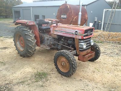 Massey Ferguson 148 Tractor Not Fiat Or John Deere Similar To 35 And 135 Mf