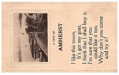 Amherst Nova Scotia   Postcard early 1900's