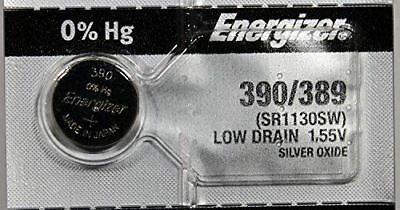 5 386 / 301 Energizer Watch Batteries SR43SW SR43W