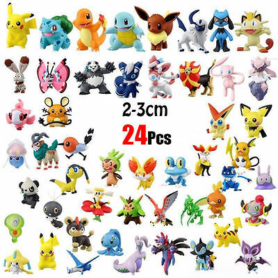 2017 New Pokemon Miniature Set HOT Mini Action Figures Pokémon Go Toy Gift Set