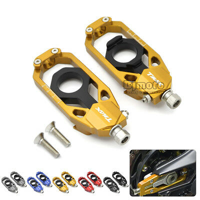 Motorcycle Chain Adjusters Tensioners Catena Kit For Yamaha TMAX 530 2013-2016