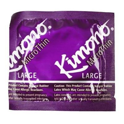 Kimono MicroThin Large Condoms - Pack Size - 100 Pack