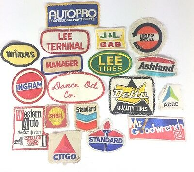 Gas Station Patch Lot Gas And Oil Patch Service Patches