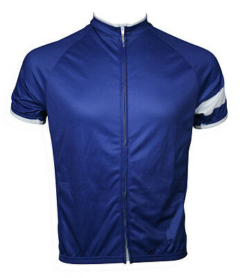 New Mens Mountain Bicycle Cycling Polyester Short Sleeve Jersey Top Size S-XXXL