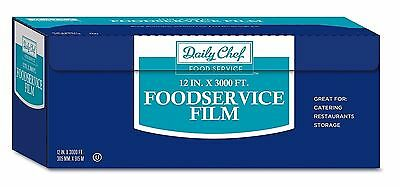 Daily Chef Foodservice Film 12' X 3000' Kosher Restaurants Catering Storage New