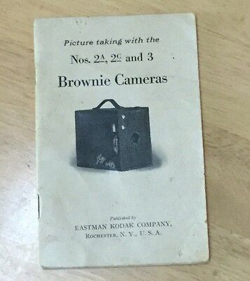 Picture Taking With The 2a 2c & 3 Brownie Cameras, Eastman Kodak Company 1921