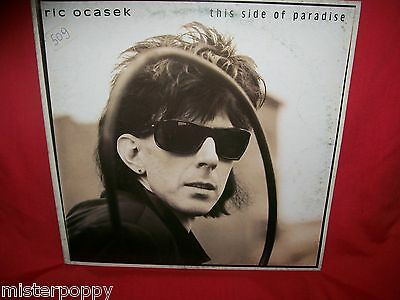 RIC OCASEK (THE CARS) This side of Paradise LP 1986 ITALY First Pressing MINT-