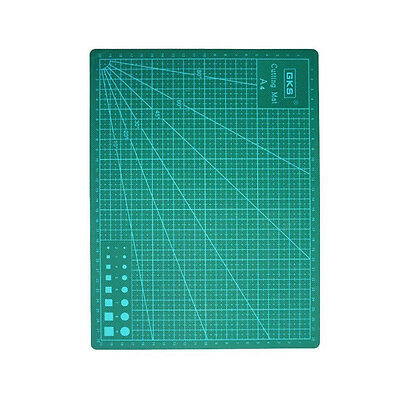 A4 Self Healing Non Slip Craft Quilting Printed Grid Lines Board Cutting Mat HOT