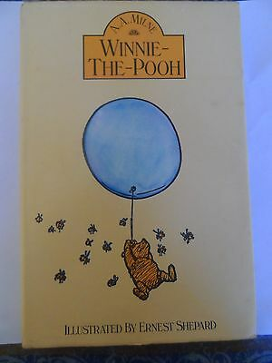 Winnie The Pooh- A.a.milne 1979 Hardcover Book Printed In Great Britain