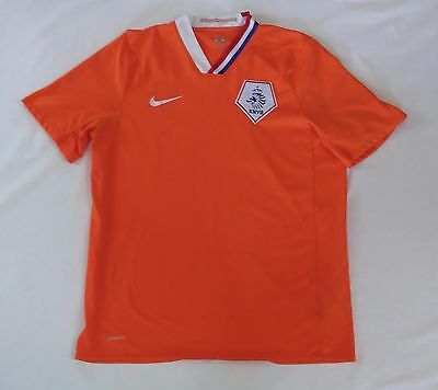 Holland 2008/10 Nike Shirt Jersey Netherlands Trikot Dutch Football Shirt Large