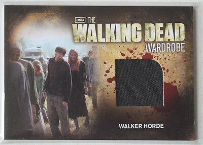 Walking Dead Season 2	Costume Card	Walker Horde Wardrobe Cards M30