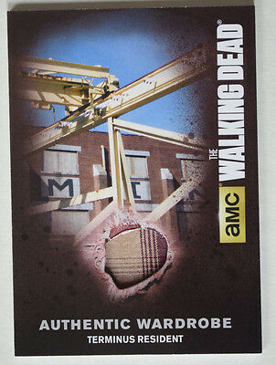 Walking Dead Season 4 Part 2 Wardrobe Costume Card M49 Terminus Resident