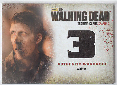 Walking Dead Season 3 Part 2 Wardrobe Costume Card W4 Walker
