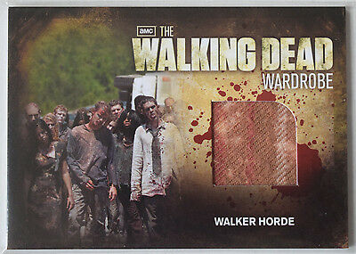 Walking Dead Season 2	Costume Card	Walker Horde Wardrobe Cards  M32