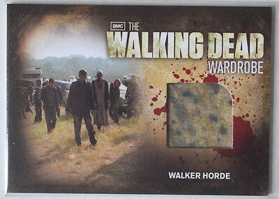 Walking Dead Season 2	Costume Card	Walker Horde Wardrobe Cards M28