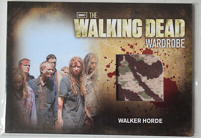 Walking Dead Season 2	Costume Card	Walker Horde Wardrobe Cards M29 Version 3