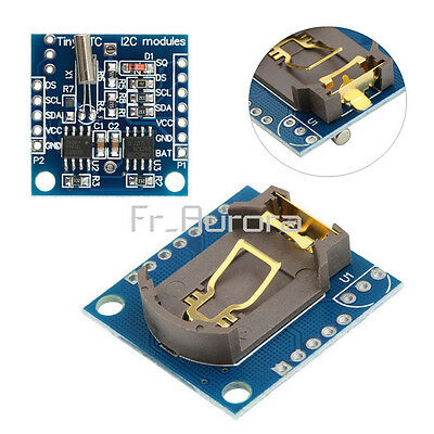 DS1307 RTC I2C AT24C32 Real Time Clock Module Pour Arduino  AVR PIC ARM