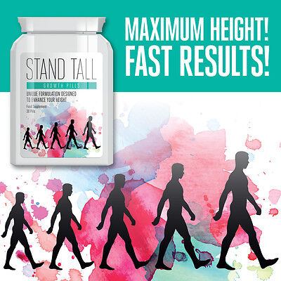 Stand Tall Growth Pills – Increase Height 3 – 5 Inches Height Enhancer Tablet