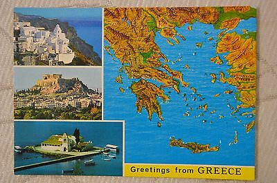 "CPM "" Greetings from GREECE - Différentes vues"