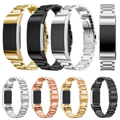 New Replacement Bracelet Stainless Steel Watchband Strap For Fitbit Charge 2 UK