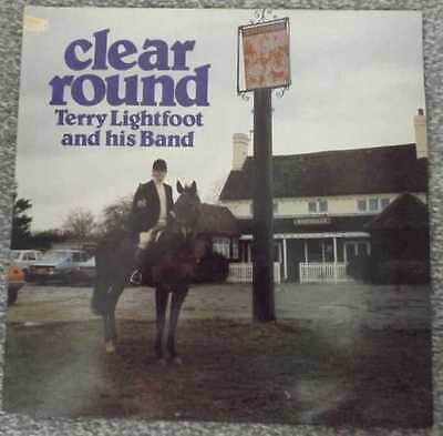 TERRY LIGHTFOOT & HIS BAND CLEAR ROUND PLJ0003 Ltd Edition CLEAR VINYL PRESSING