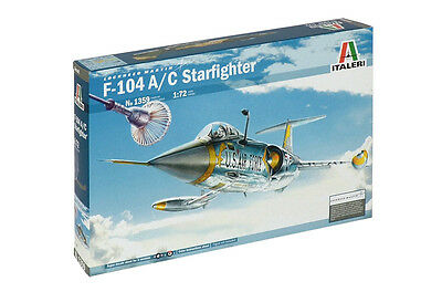 Italeri F104 A/C Starfighter 1:72 Scale Model Kit