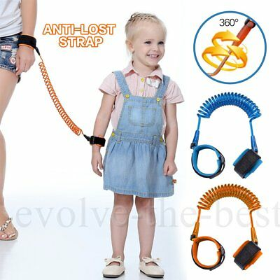 Toddler Kid Baby Safety Anti-lost Strap WristBand Link Harness Belt Reins in UK