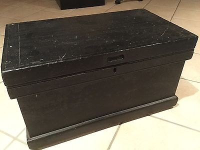 Antique Timber Blanket Box / Glory Box