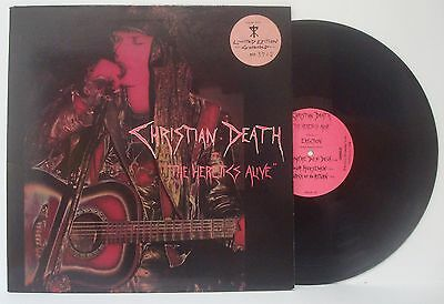Christian Death - The Heretics Alive  - Lp 1989 - Lim.edit: Nº 3742