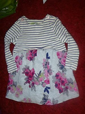 Joules baby girls dress age 6-9 months