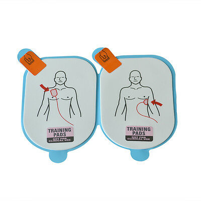 10 Pairs /2 Pack AED Training Replacement Pads For AED Lifeline Trainer