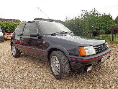 1989 Peugeot 205 GTI 1.6, One Lady Owner From New, Very Orginal, MOT May 2018