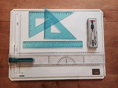 Linex A3 Student Drawing Board - Saver Bundle (Used but all in good condition)