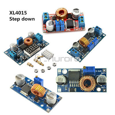 XL4015 5A DC-DC Step Down Buck Converter Module Power Supply LED Lithium Charger