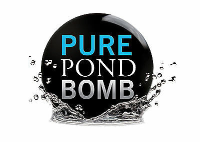 Pure Pond Bomb-Evolution Aqua-Bacterial Booster To Clear Your Pond