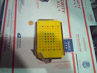 oscar wild ride waldos fun factory yellow led light part