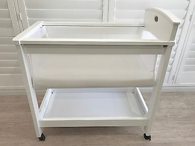 Boori White Bassinet **AS NEW** RRP $299